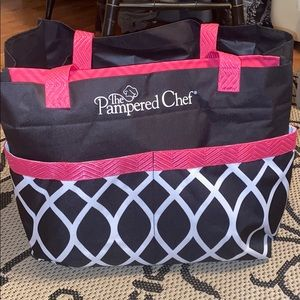Pampered Chef XL Canvas Tote